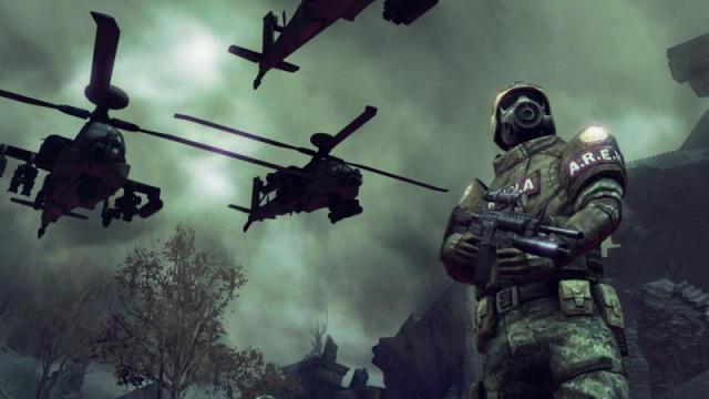 Commando e elicotteri d'assalto
