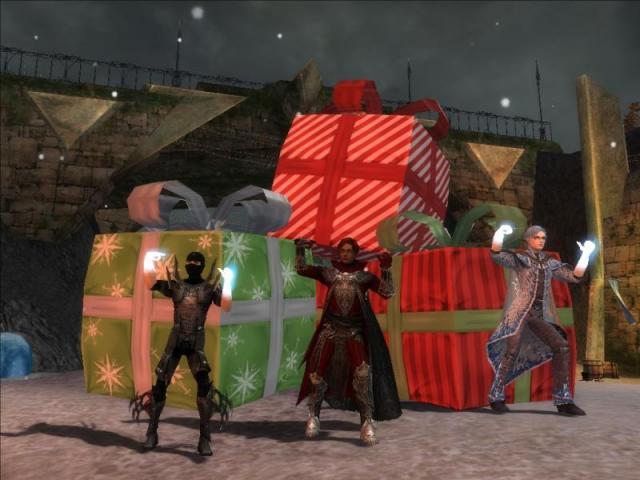 Buone Feste da Igors, Frost e Squall