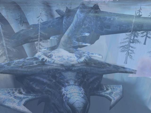 Dragon su ghiaccio