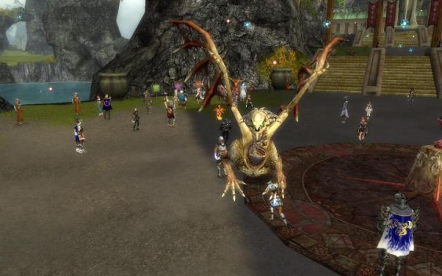 io (paragon) e un bone dragon :)