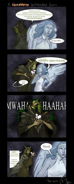 Un fumetto dell'Invernodì Guildwarsiano